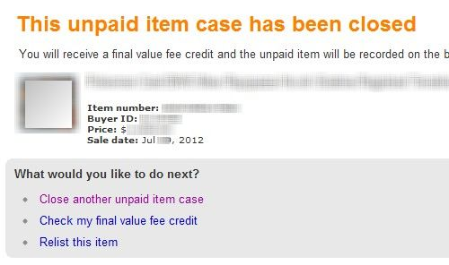 eBay Close Unpaid Item Case 05